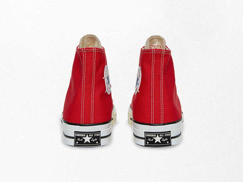 Converse Reconstructed Chuck 70 x Slam Jam in Vivid Red