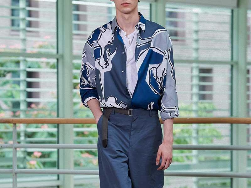 Hermès SS21 menswear