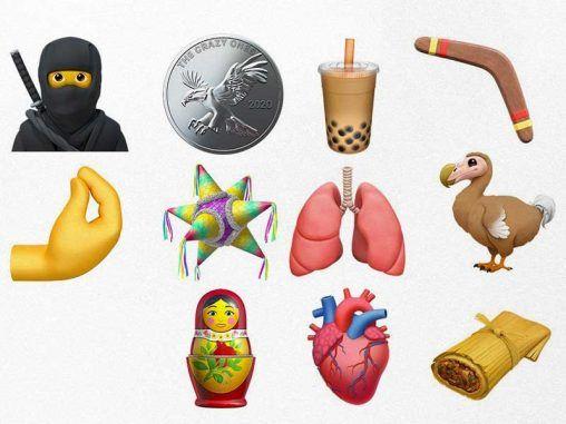 Nuevos emojis de Apple