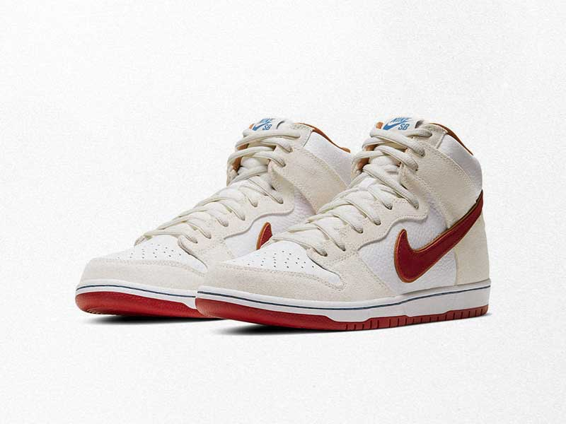 "Nike SB Dunk High ""Team Crimson"" arrives in July"