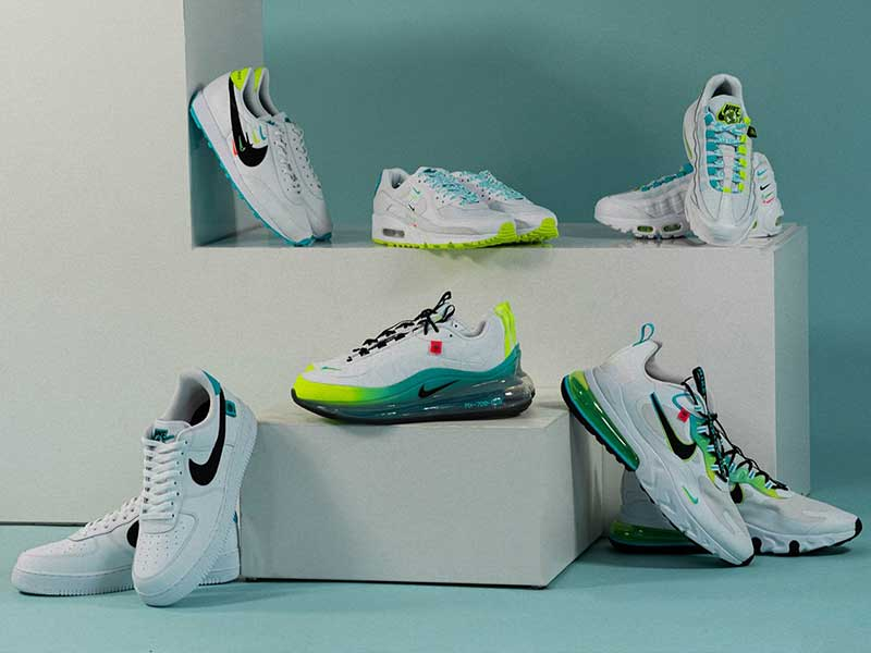 Swooshes and Neons go through Nike's 'Worldwide Pack'
