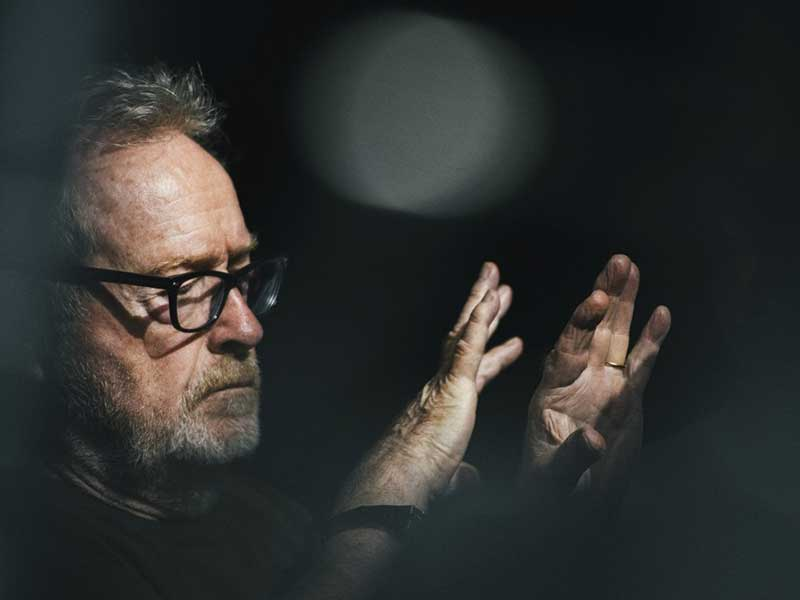 You can appear in Ridley Scott's new job