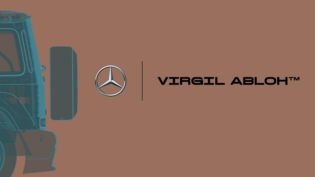 Virgil x Mercedes Benz