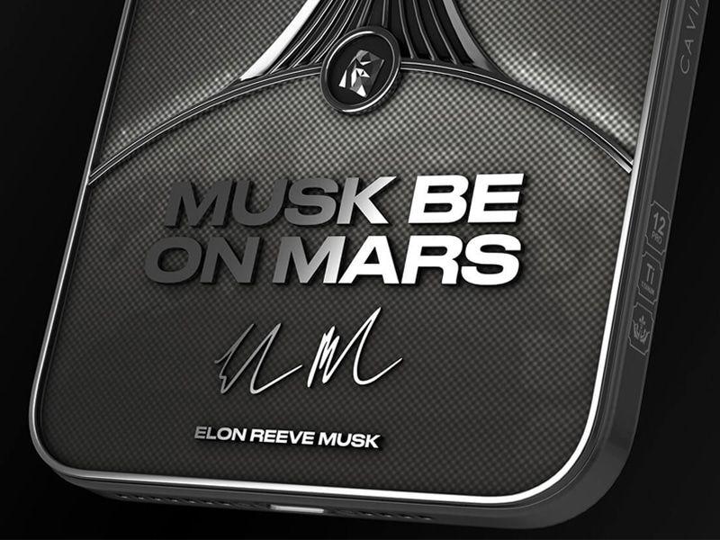 MUSK BE ON MARS