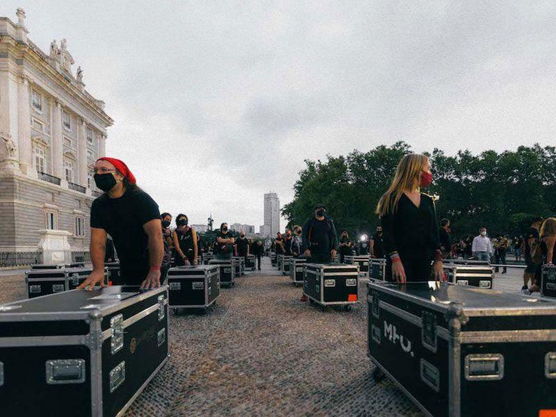 #AlertaRoja: El sector del espectáculo al límite