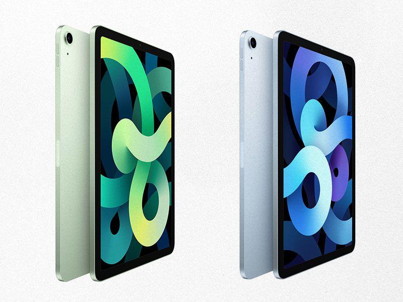 Apple anuncia el lanzamiento del iPad Air en verde y azul