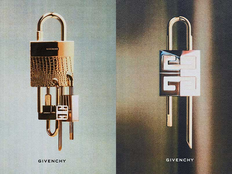 La primera campaña publicitaria deMatthew Williams para Givenchy