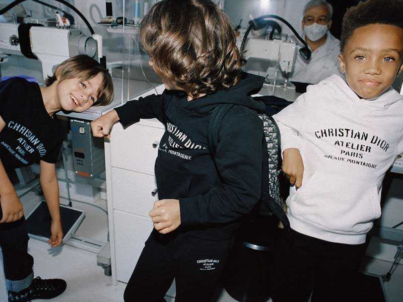 Christian Dior Atelier for kids