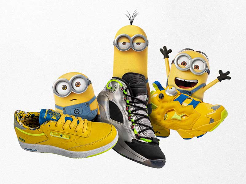 "Reebok x ""Minions: The Rise of Gru"""