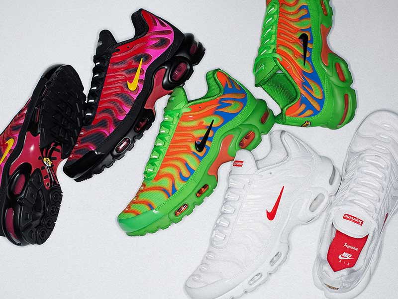 Supreme x Nike Air Max Plus | Esencia gabber