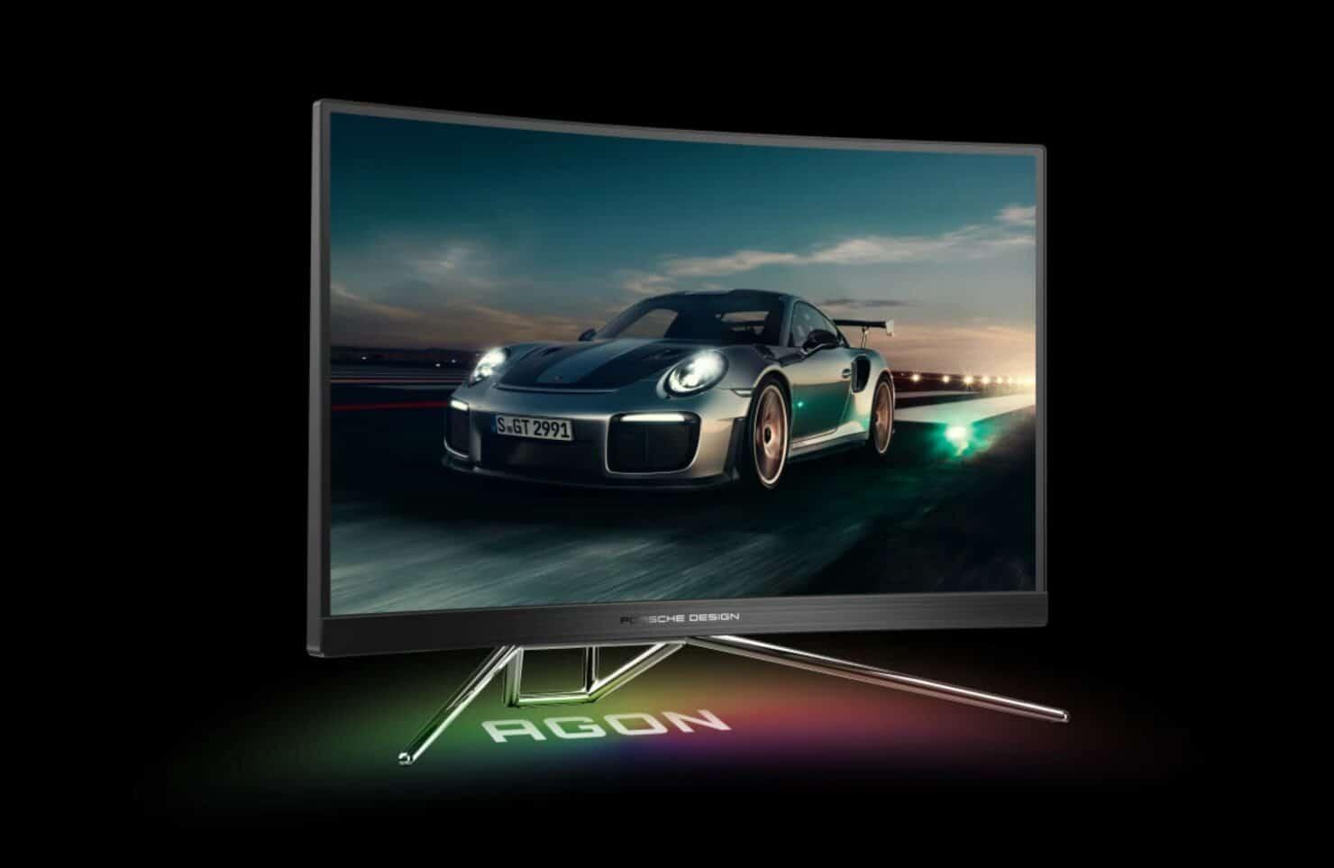 Porsche monitor