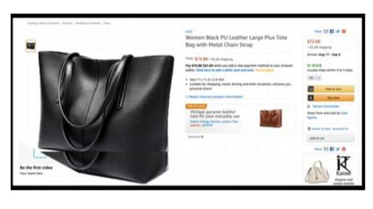 Amazon demanda a dos influencers por vender diseños fake