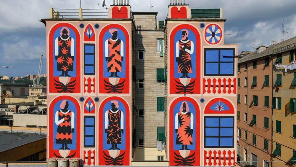 El street art está cambiando el skyline de Madrid