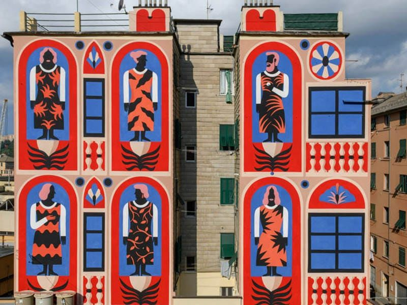 Street art is changing the skyline of Madrid