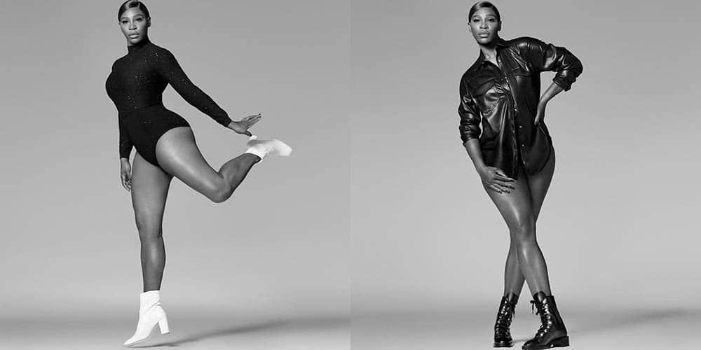 Serena Williams protagonista de la campaña de Stuart Weitzman