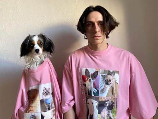 Balenciaga homenajea a las mascotas con su nueva colección