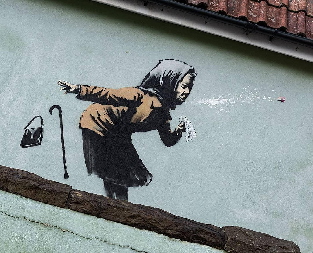 Banksy anciana