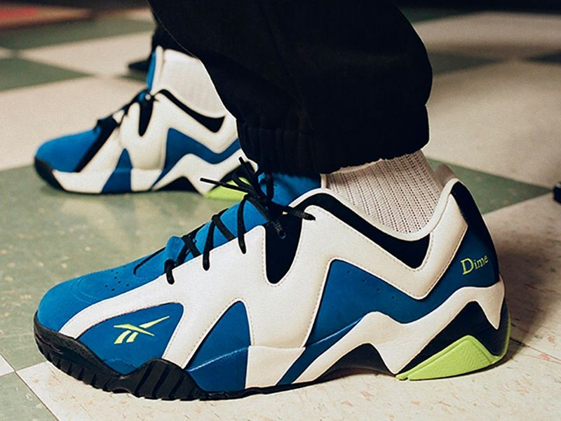 Dime and Reebok celebrate the 25th anniversary of Kamikaze II