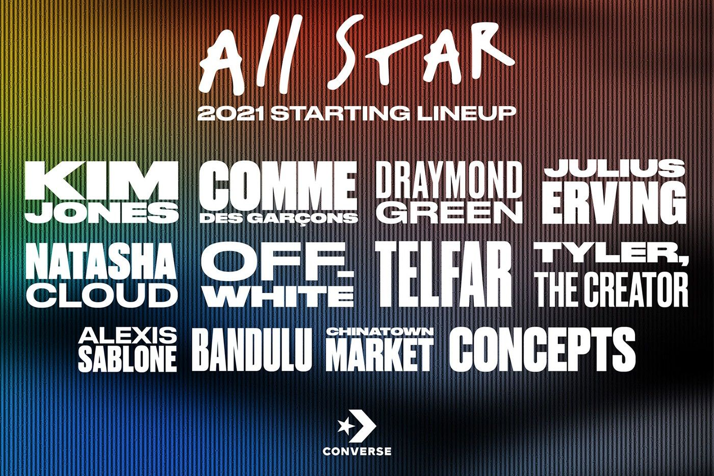 Converse SS21 collaboration lineup