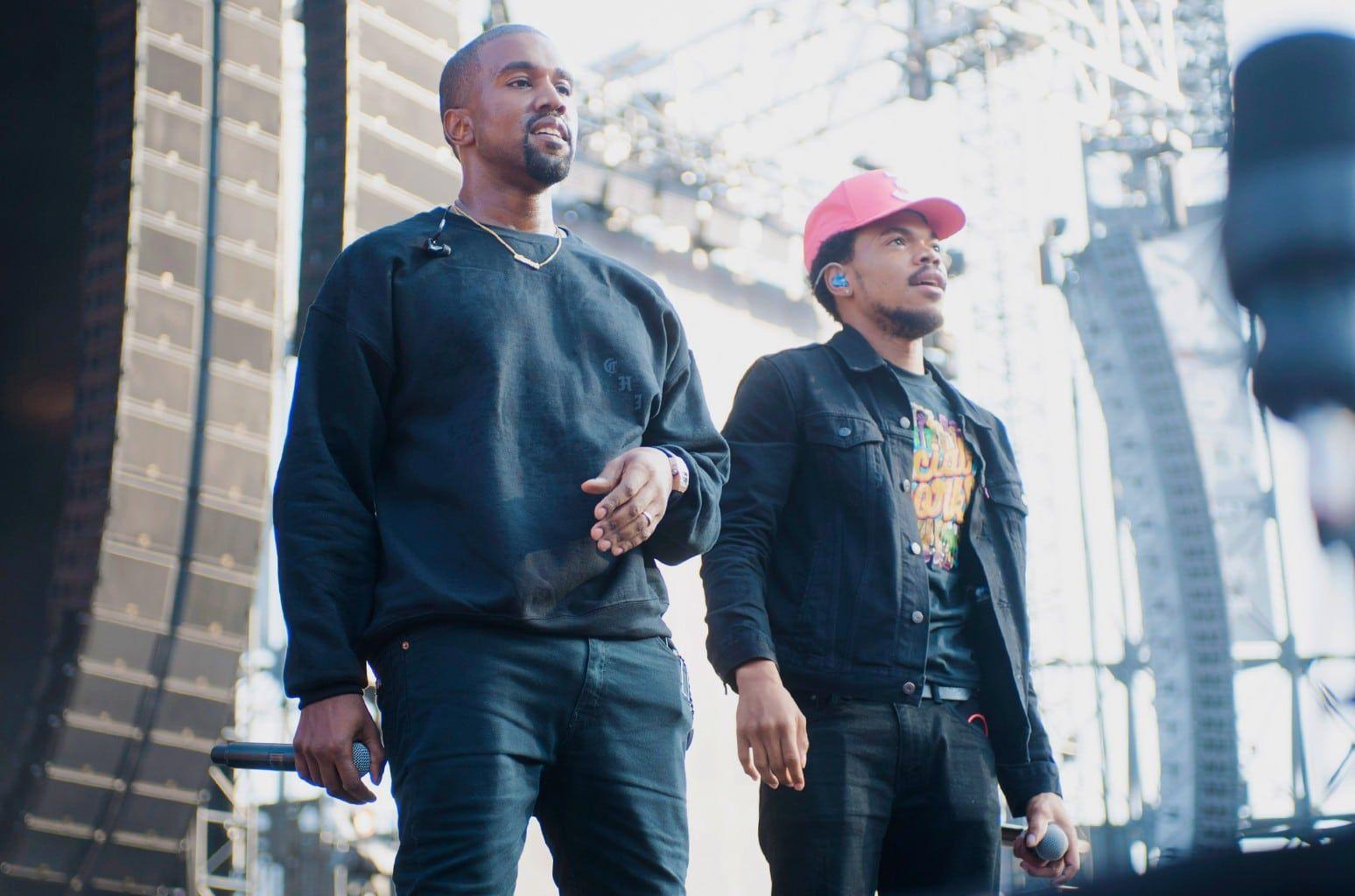 Kanye grita a Chance The Rapper