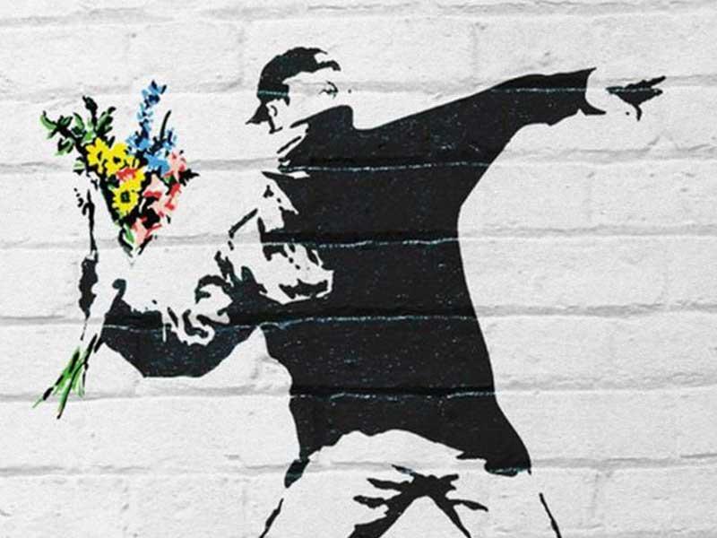 'BANKSY. The Street is a Canvas' en El Círculo de Bellas Artes