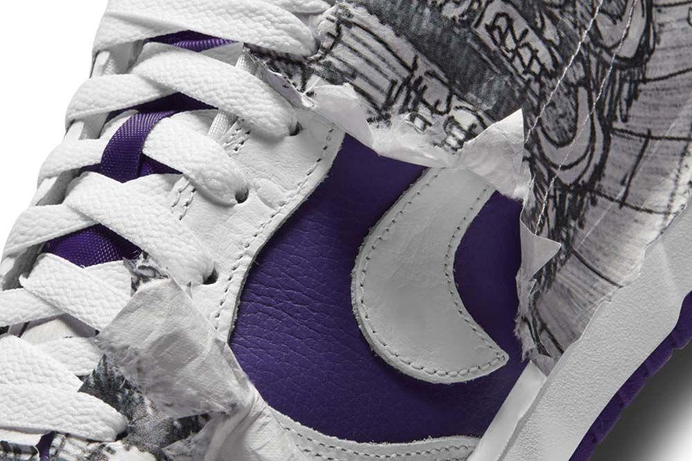 Nuevas Nike Dunk Low: un guiño a las City Attack de los 90