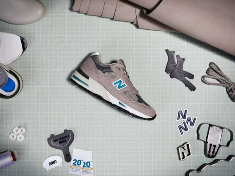 New Balance is celebrating: its Made in UK 991 celebrates its 20th anniversary