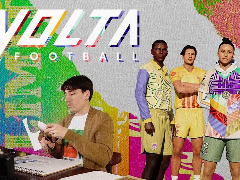 Héctor Bellerín diseña la equipación de Volta en FIFA21