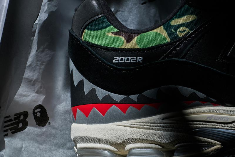 New Balance x BAPE 2002R 1st pair