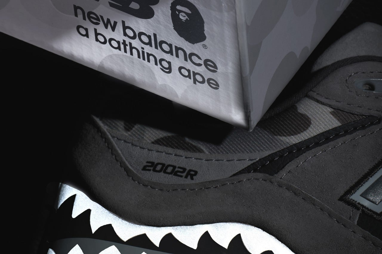 New Balance x BAPE 2002R 3rd pair and box