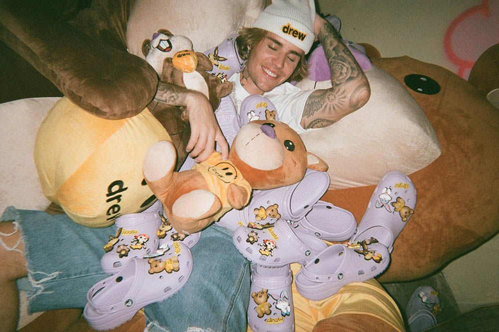 Justin Bieber and Crocs