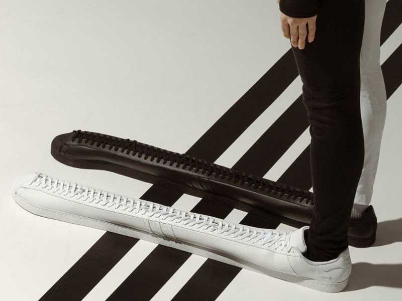 TOMM¥ €A$H has designed the world's longest adidas Superstar