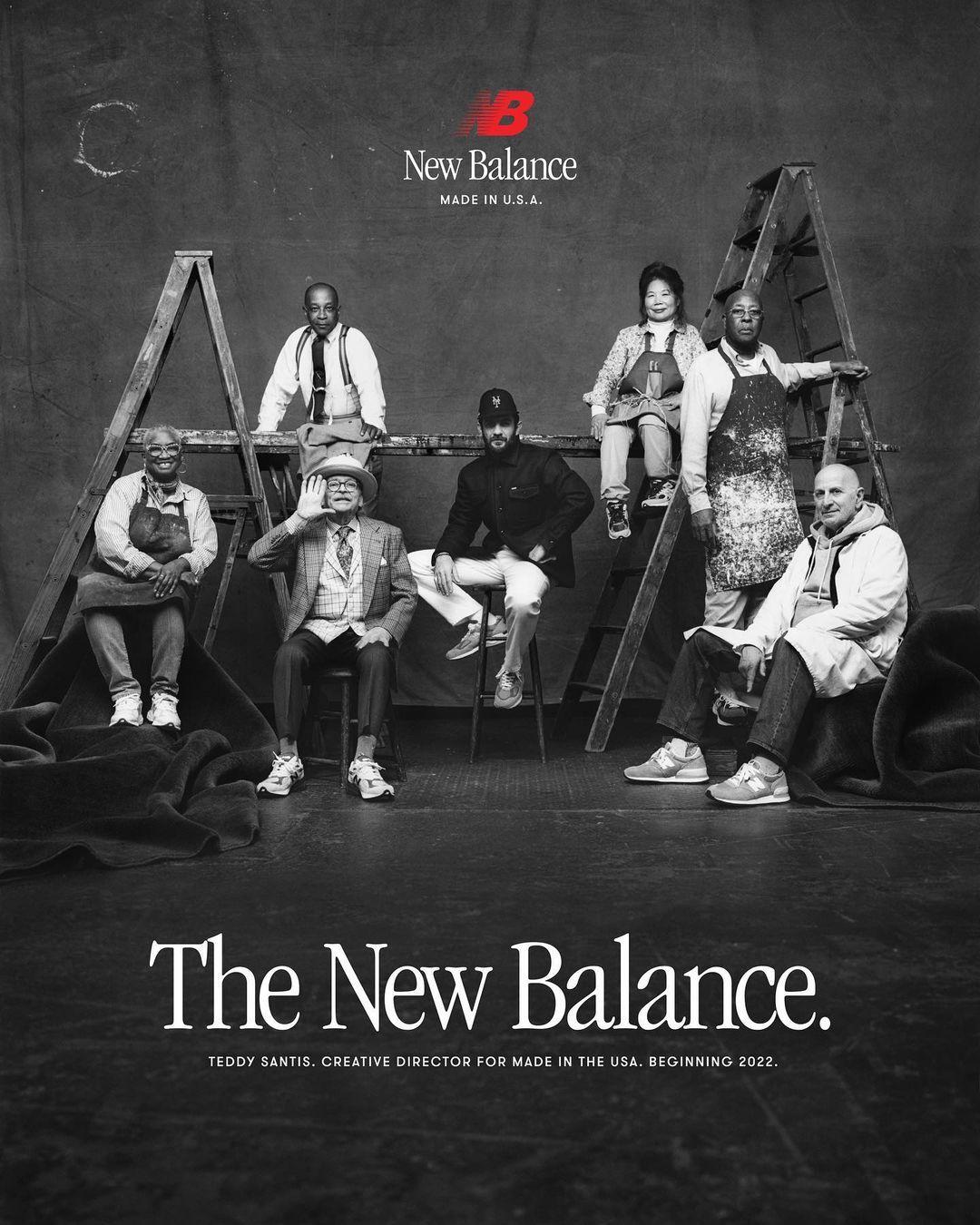 Teddy Santis nuevo director creativo de New Balance Made in USA