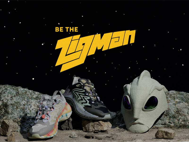 'Zigman v.s The Spacecraft' is the latest project from Brain Dead and Reebok