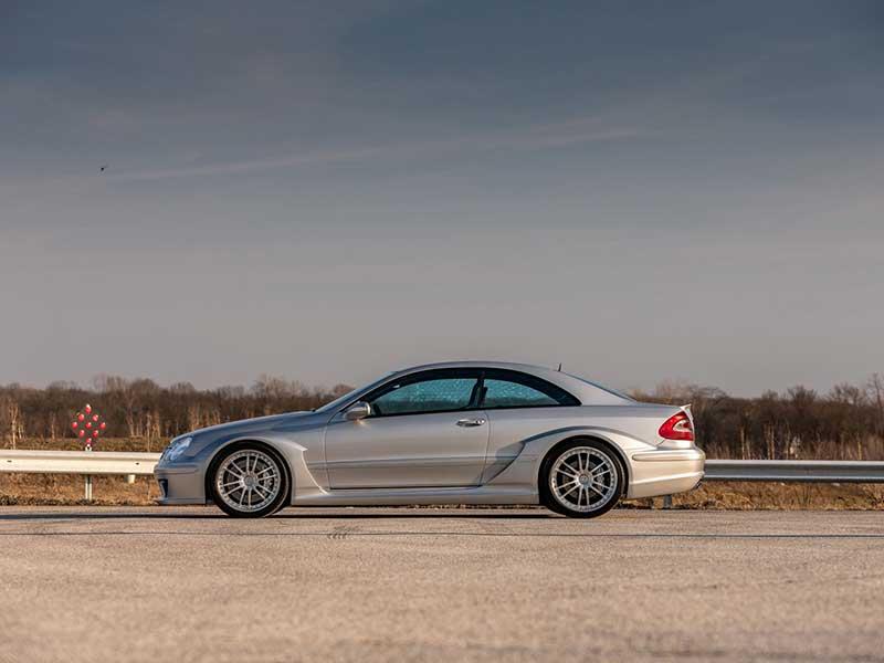 Este Mercedes solo puede recorrer 4.000 km anuales