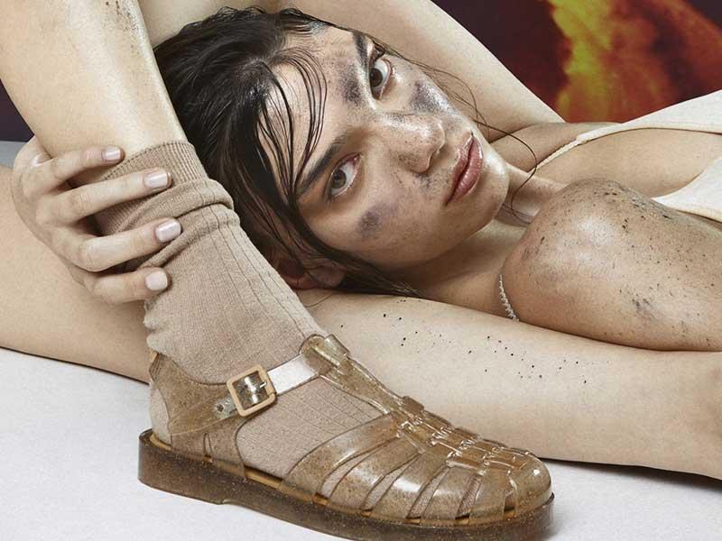 El calzado eco-futurista de Melissa x Rombaut para SS21