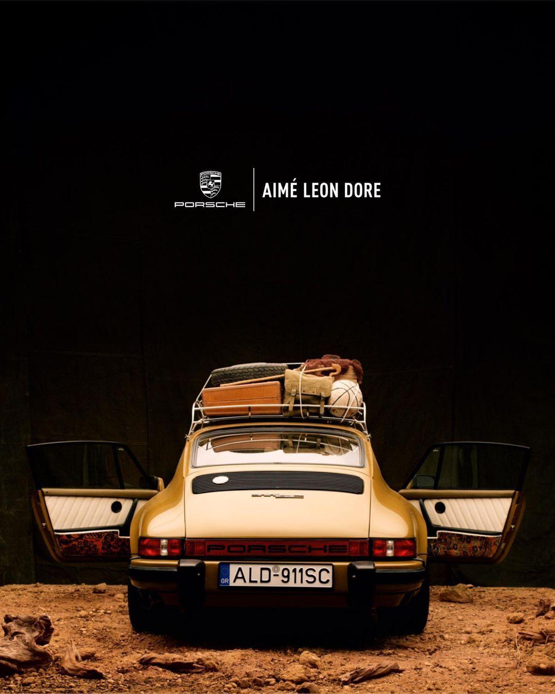 Aimé Leon Dore x Porsche