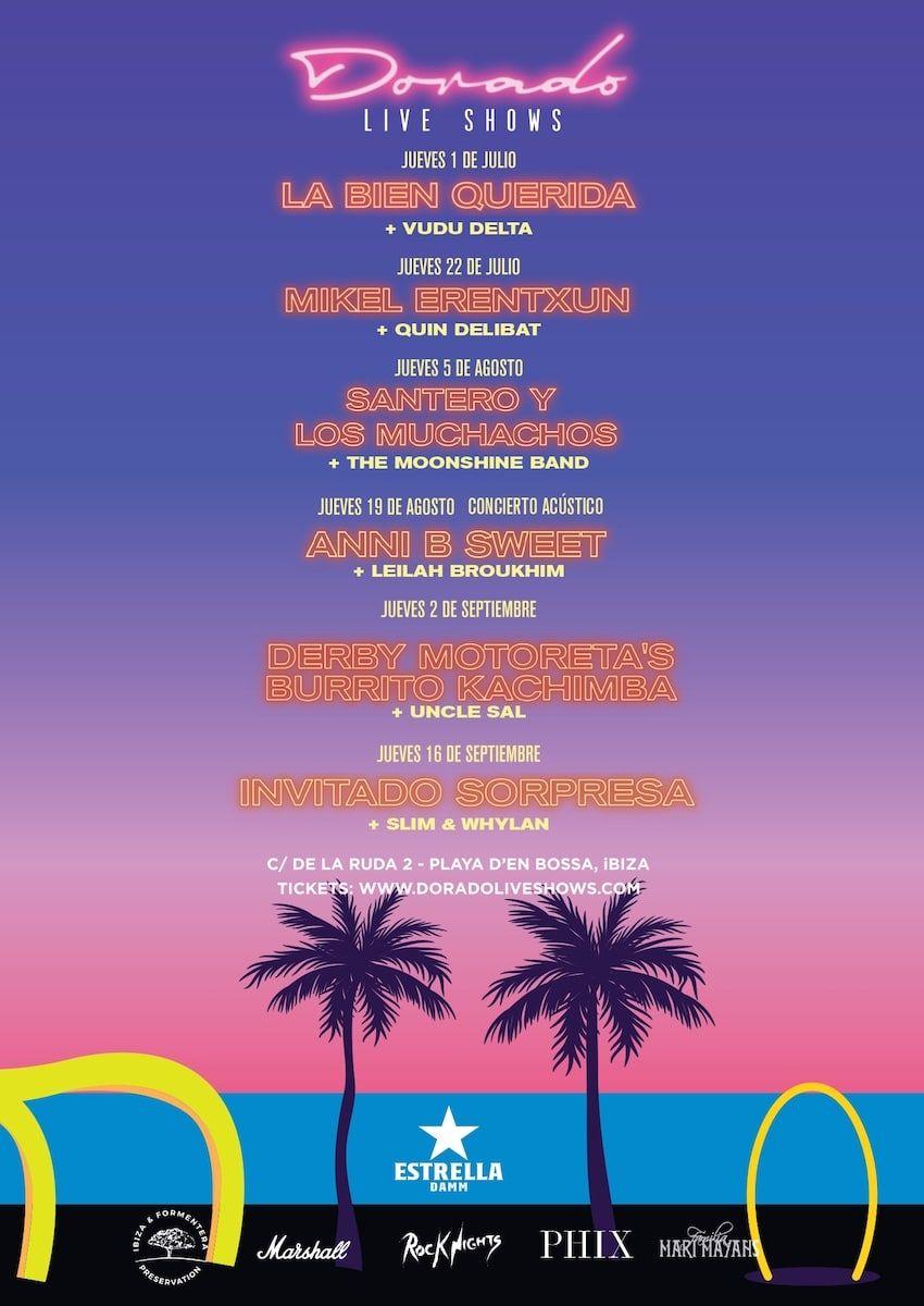 Dorado Live Shows