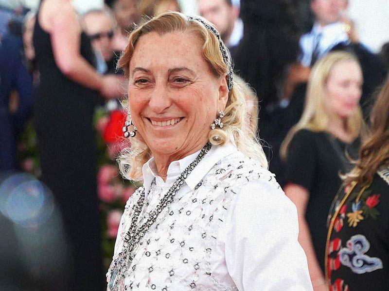 This is Miuccia Prada 's annual salary