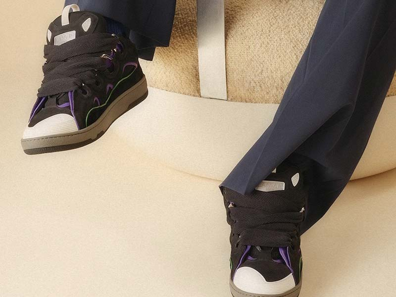 Lanvin rescues the Curb Sneaker through new models