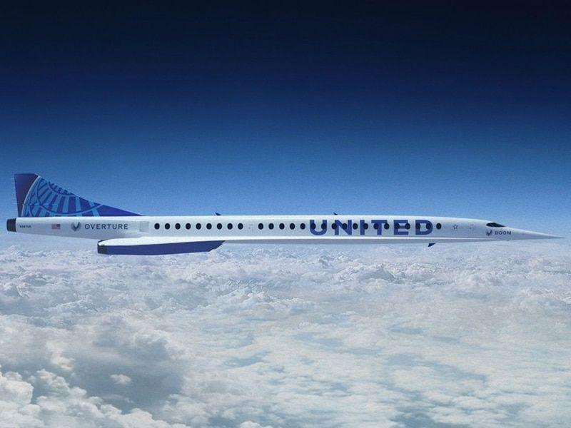 United Airlines se pasa a los aviones supersónicos