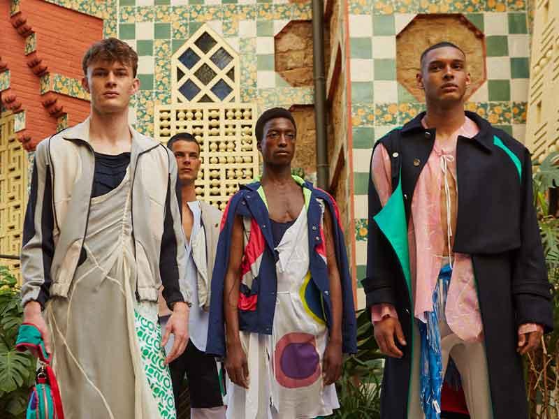 La Casa Vicens de Gaudi acoge las colecciones de los alumnos del IED Barcelona