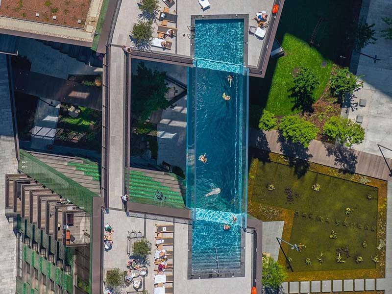 La nueva sky pool de Londres