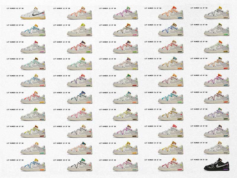 Off White x Nike Dunk