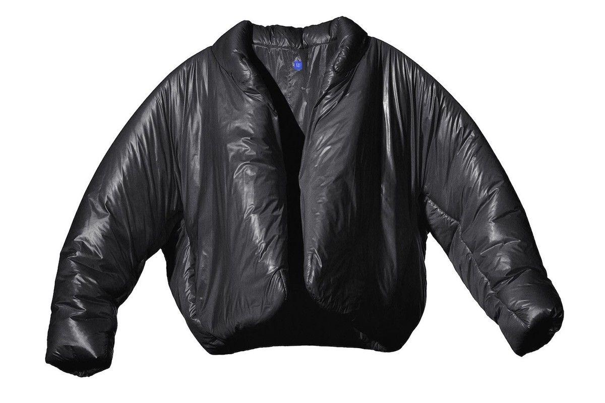 YEEZY x GAP Black Round Jacket