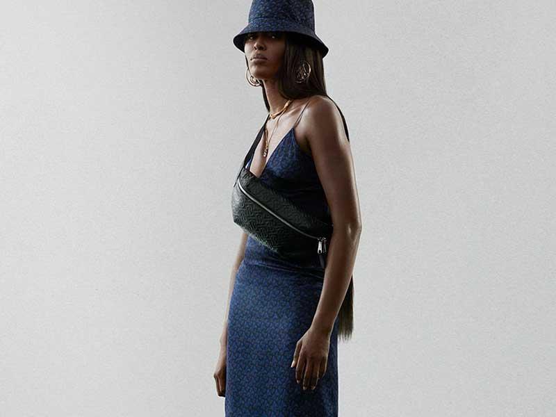 Naomi Campbell x Burberry