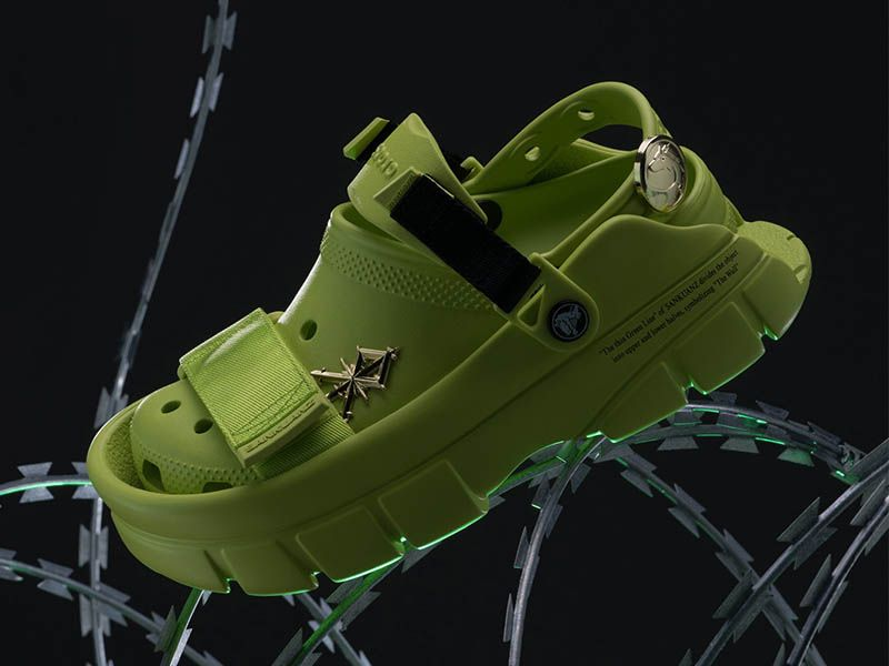 The new Sankuanz x Crocs leave no one indifferent