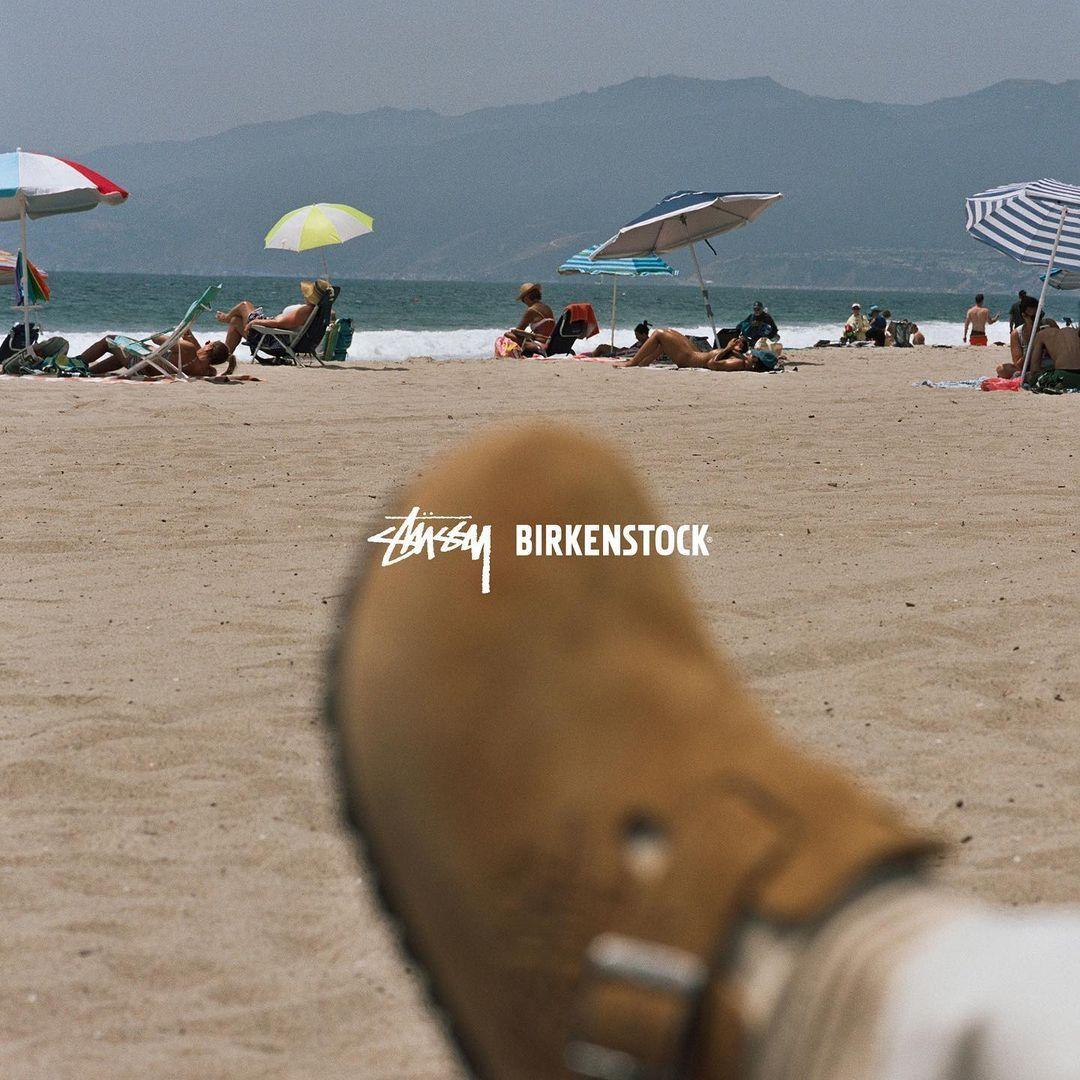 Stüssy x Birkenstock