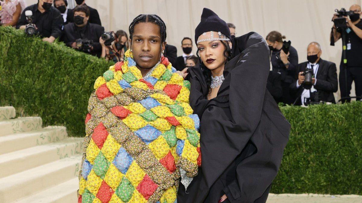 A$AP Rocky y Rihanna