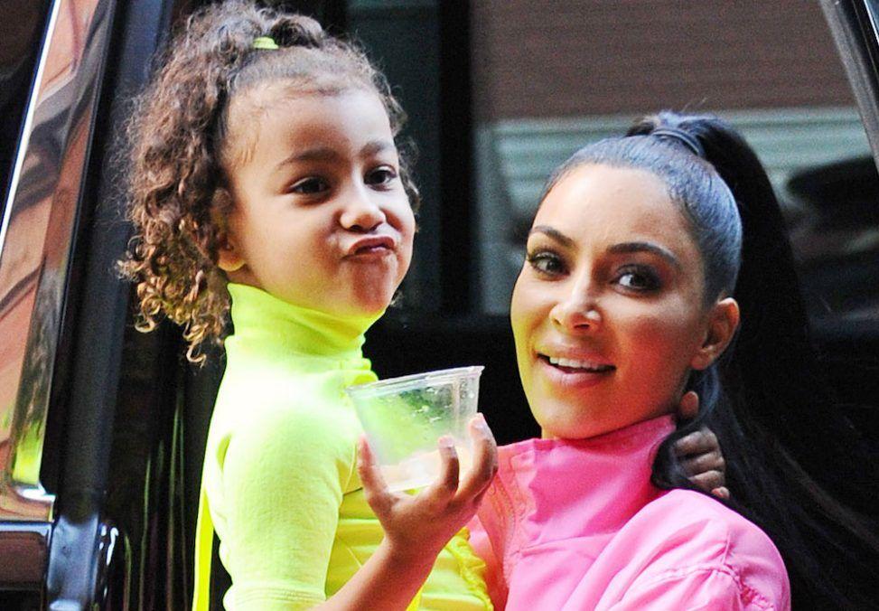 North West mocks Kim Kardashian on live stream